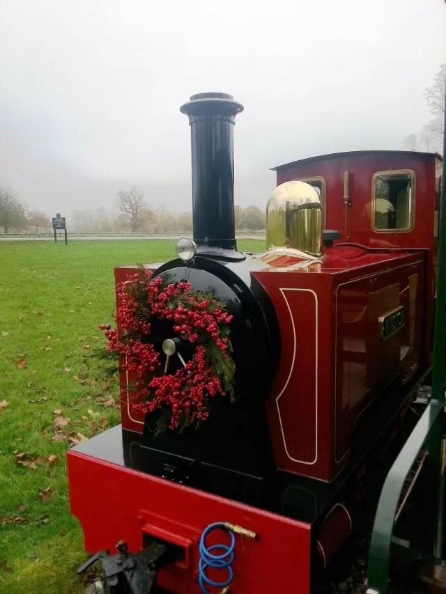 Winston the Blenheim Palace train