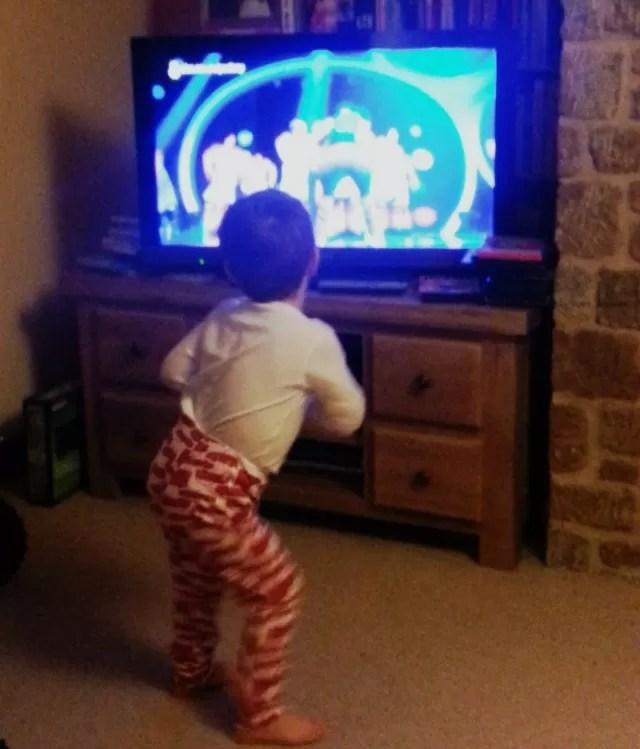 dancing to children in need 2014