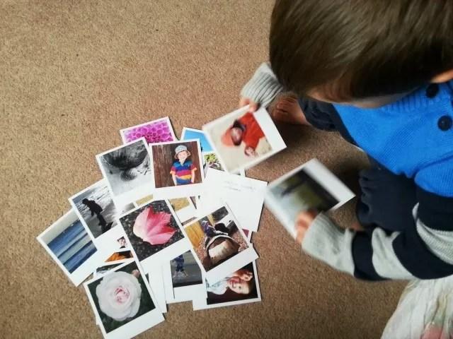 sorting through photos from Polagram - sunday photo