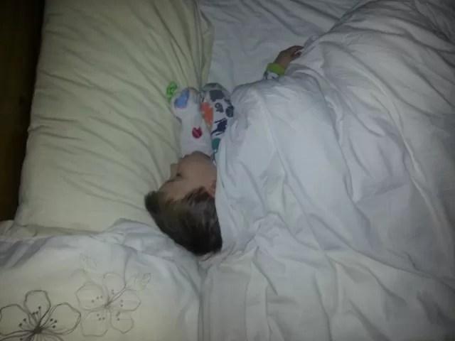 bedtime bed hogger