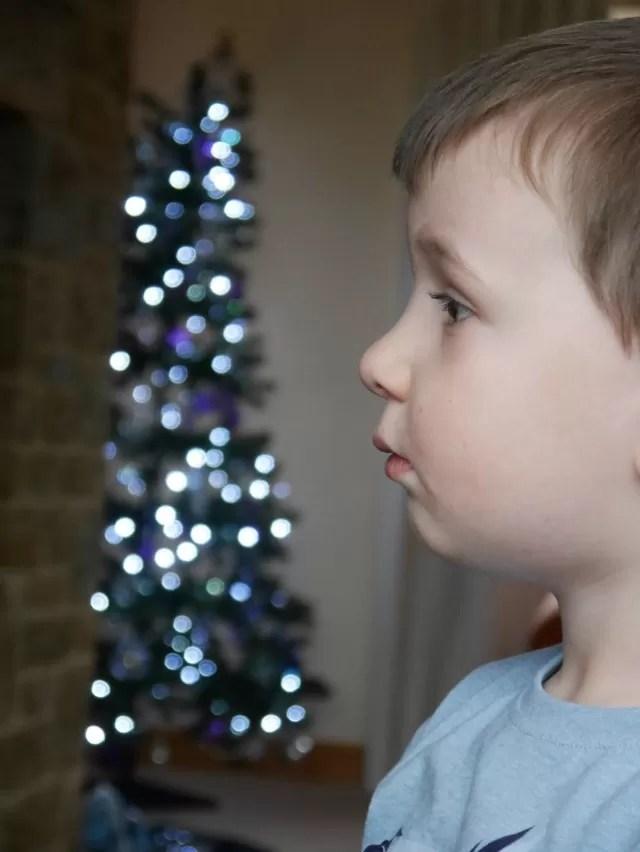 Engrossed in tv