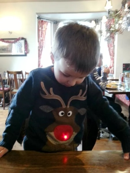 Next reindeer christmas jumper