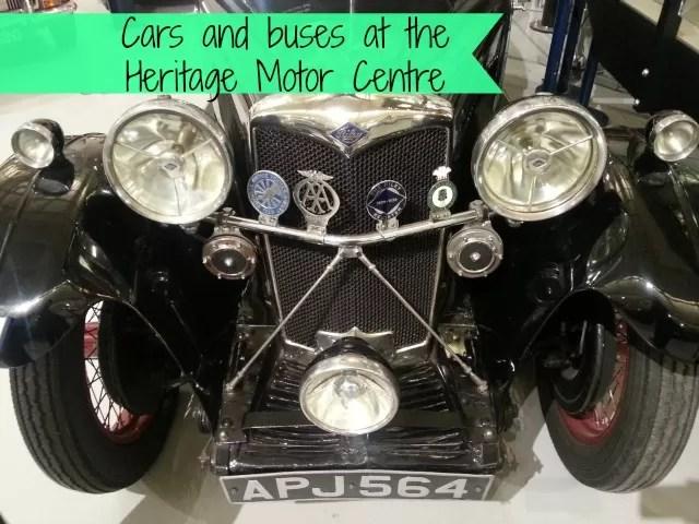 Visiting the Heritage Motor Centre, Gaydon