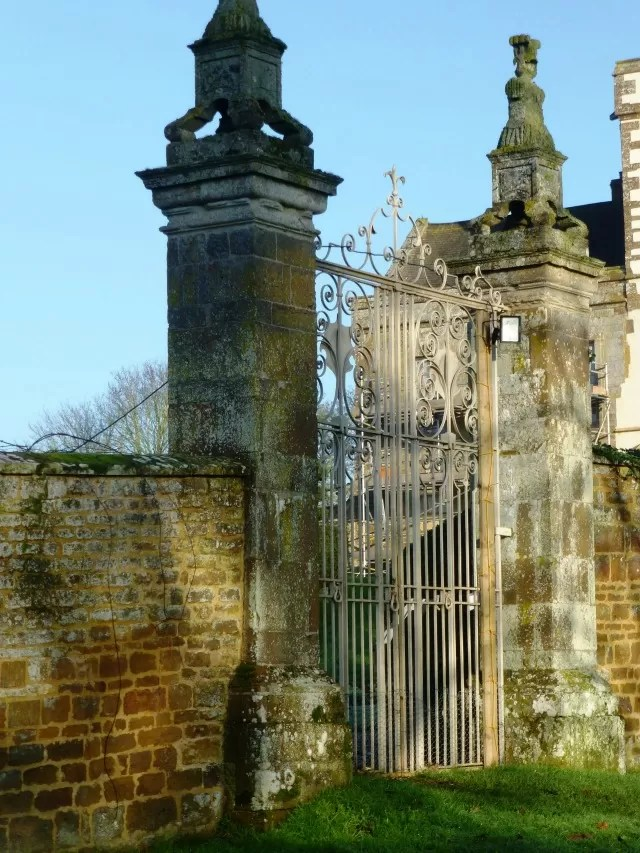 gate at canons ashby