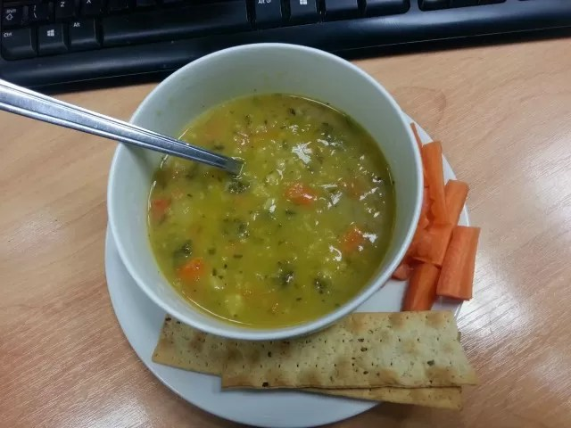 healthy soup for lunch