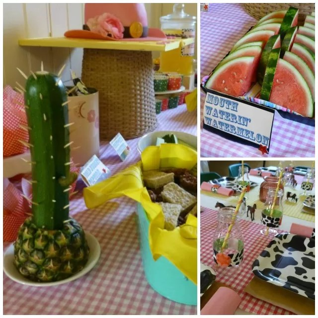 cowboy cowgirl party theme food | Bubbablue and me