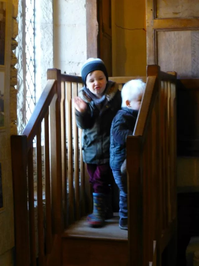 investigating the priests hole Baddesley Clinton
