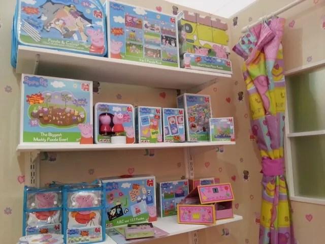 jumbo Peppa Pig toys at Toy Fair 2015