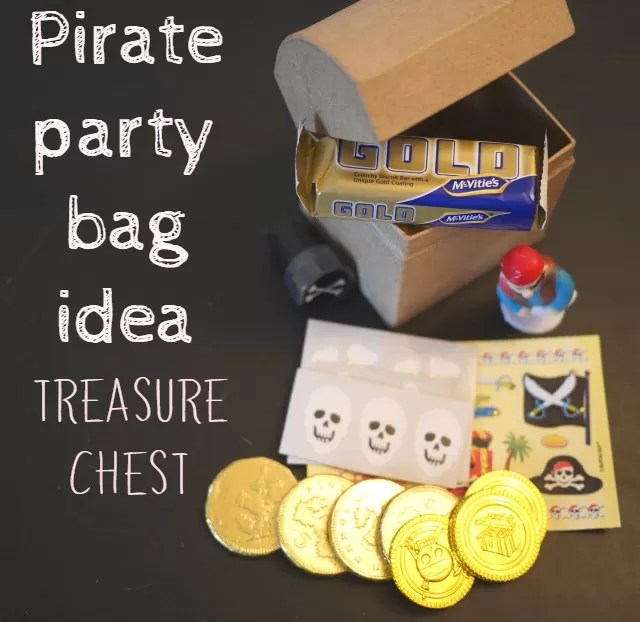 pirate party bag idea | Bubbablue and me