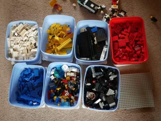 Lego organisation