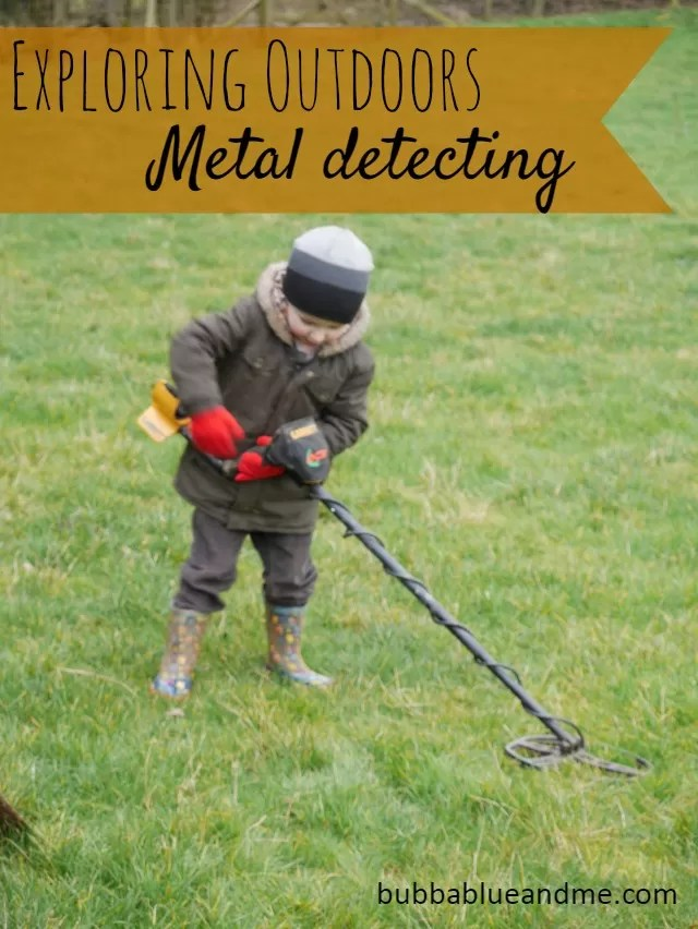 Exploring Outdoors - metal detecting Bubbablue and me
