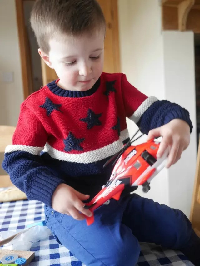 Planes 2 rescue helicopter toy