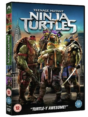 TMNT teenage mutant ninja turtles movie dvd