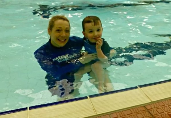 Water Babies graduation day- final swim - living arrows