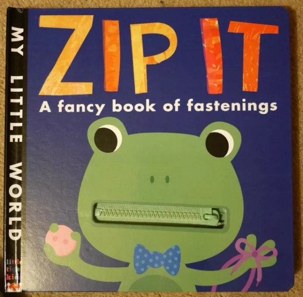 Zip It book