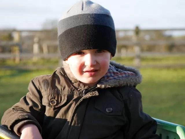 posing - outdoor play