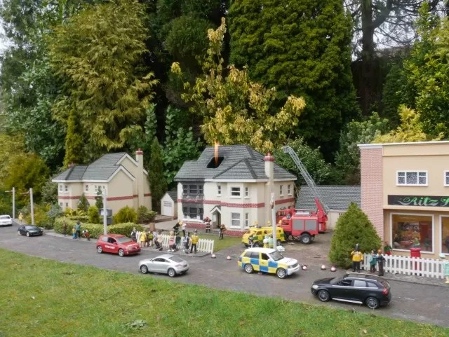 fire at babbacombe model village