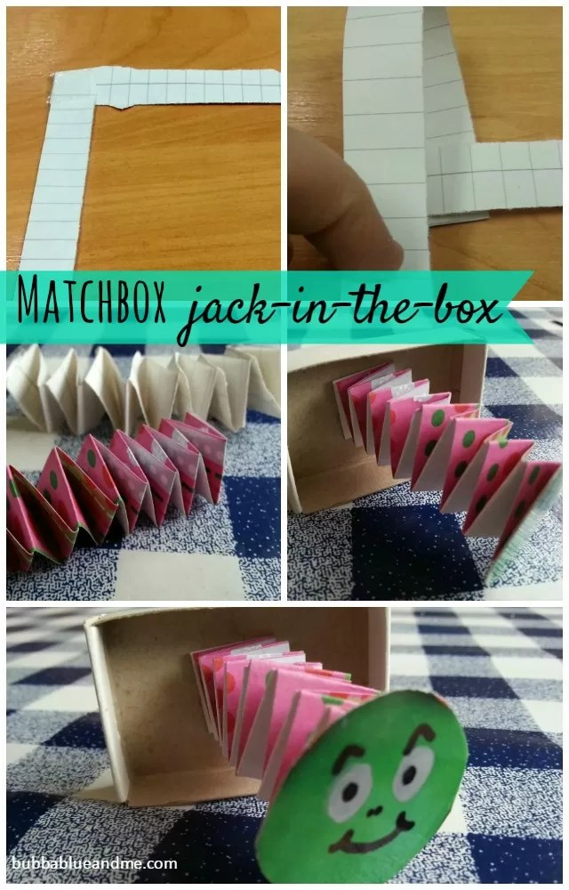 make a matchbox jack in the box Bubbablue and me