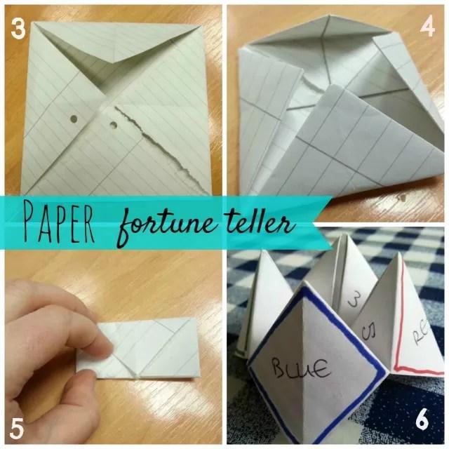 make a paper fortune teller