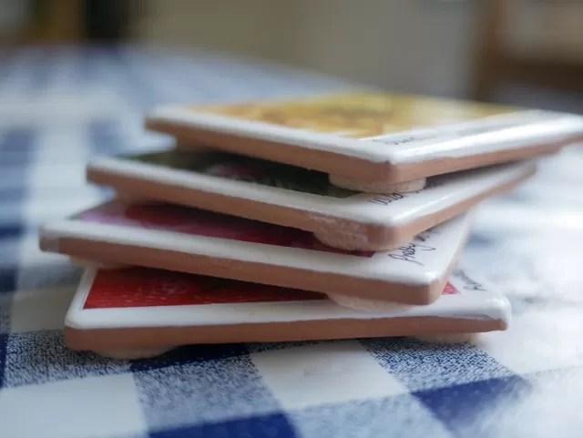 photo tile coasters 2