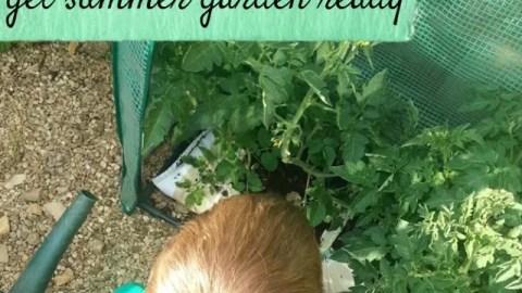 garden ready for summer tips - bubbablue and me