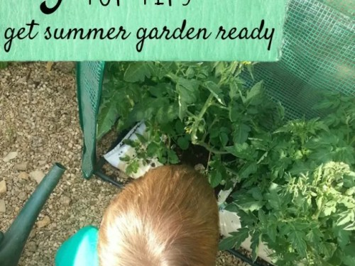 garden ready for summer tips - bubbablue and me