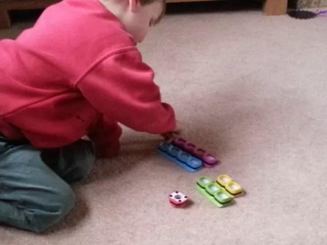 Playing Tiggly