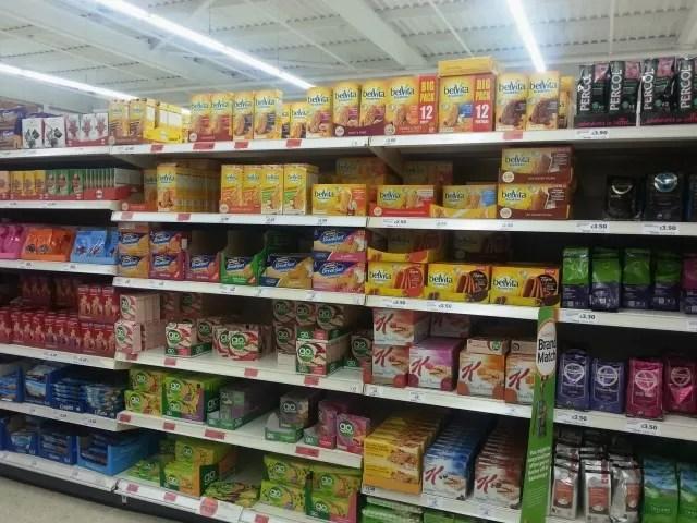 Belvita in store photo Sainsbury's