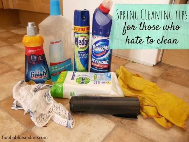 Spring cleaning tips for those who hate to clean