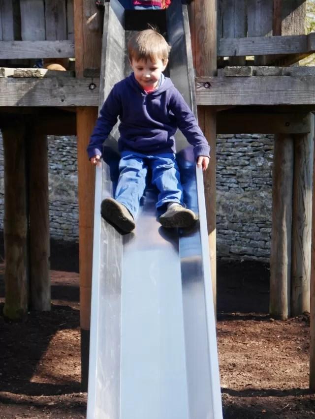 adventure playground slide