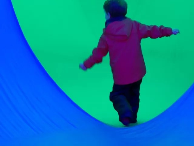 flying in Colourscape - Waddesdon Manor