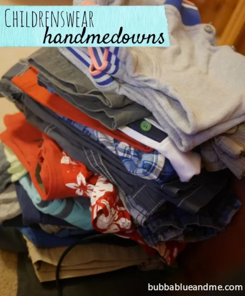 handmedown clothes - Bubbablueandme