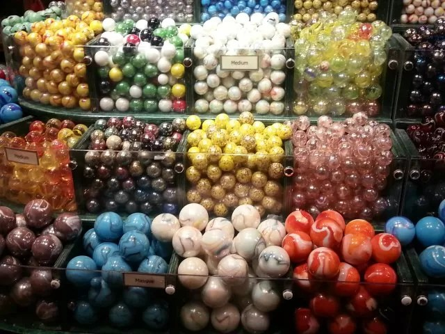 pick and mix marbles