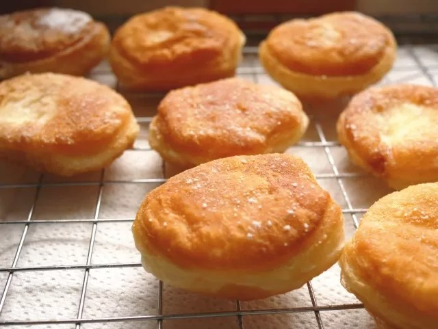 2 ingredient donuts cooling