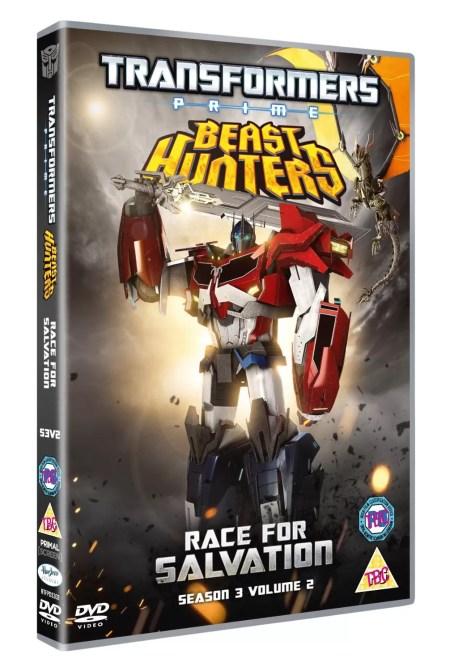 Transformers Prime season 3 Beast Hunters dvd