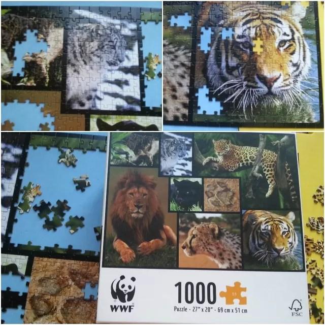 WWF wild cats jigsaw puzzle