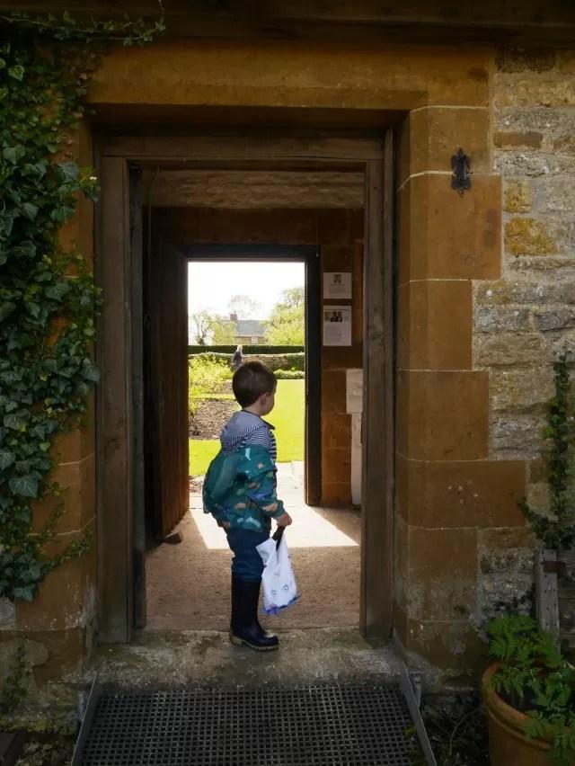 doorway at Sulgrave Manor