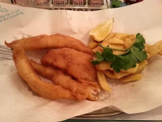 fish goujons and chips - Rockfish