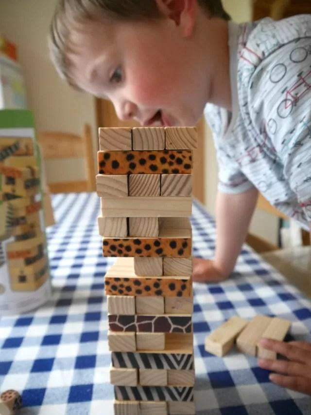 setting up WWF tumble tower