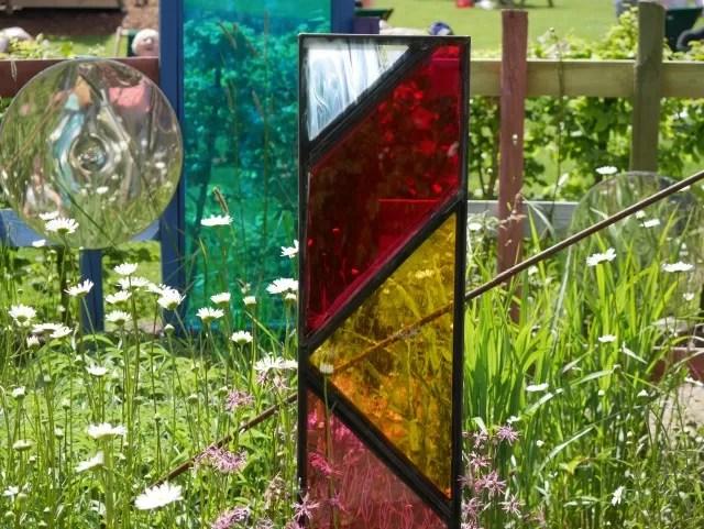 Trentham Gardens Sensory Garden display
