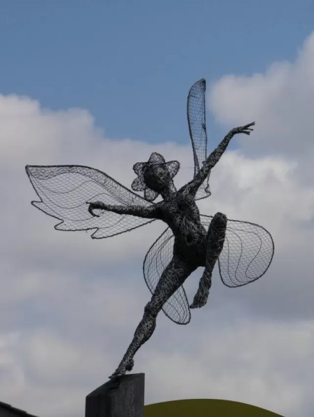 Ballerina fairy at Trentham Gardens
