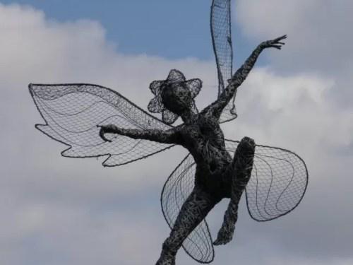 Ballerina fairy at Trentham Gardens