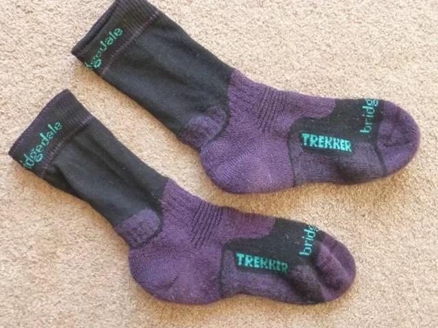 Bridgedale trekker socks womens - review  Bubbablueandme