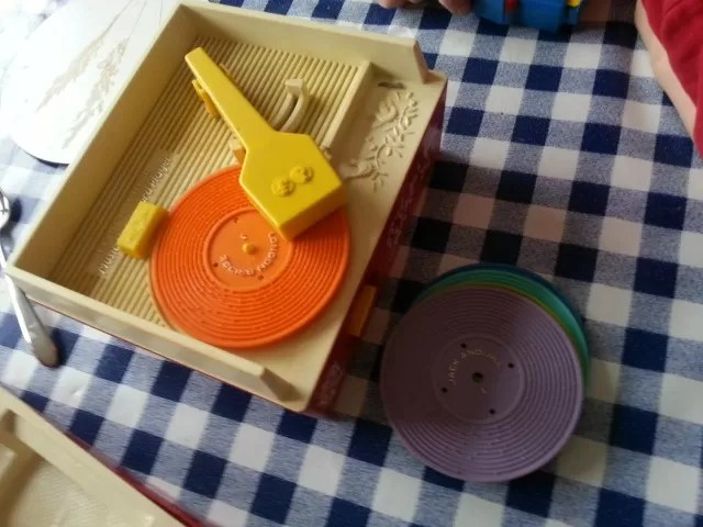 Fisher Price record player toy