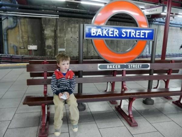 living down in Baker Street station