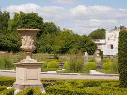 mediterranean style garden at Trentham