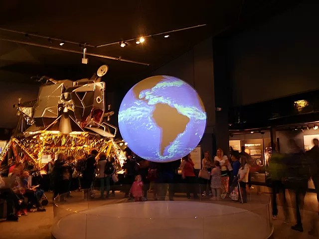 planet earth at Science Museum London