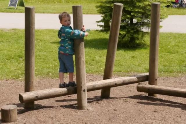 the wooden adventure playground