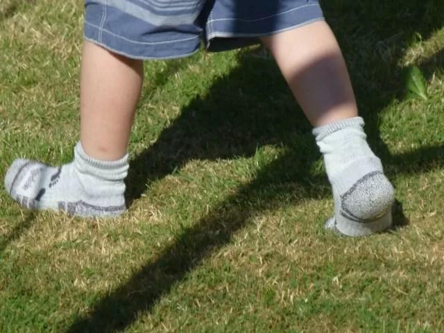 walking in bridgedale socks