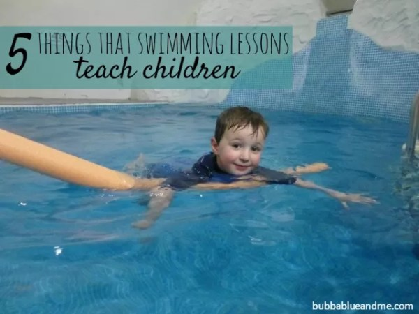 5 things that swimming lessons teach children